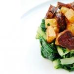 Acelgas con patatitas y chorizo
