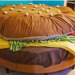 La cama hamburguesa se subasta en eBay