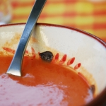 Gazpacho suave que no repite