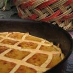Tarta de cebolla caramelizada