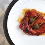 Saltimboca de ternera, jamón y salvia