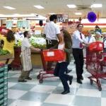 El 'flashmob' de las frutas