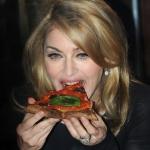Madonna también come