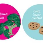 Platos personalizados para niños