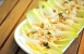 Endives, celeriac and blue cheese salad