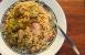 Arroz con pollo, alcachofas y jerez