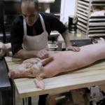 El cerdo y el carnicero