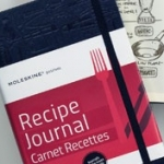 Una 'moleskine' para recetas