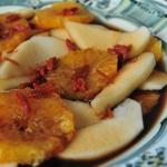 <!–:es–>Naranjas y peras caramelizadas<!–:–>