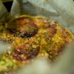 Tarta de remolacha y queso gorgonzola