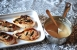 Pollo con salsa de vermouth y salvia
