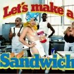 Lady Gaga y Beyoncé: sandwiches y bollos