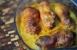 Pollo con gorgonzola y pimentón