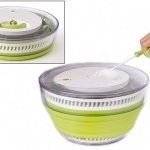 Centrifugador plegable de ensaladas