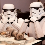 ¿La mejor tarta de 'Star Wars' de la historia?