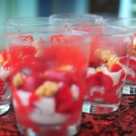 Fresas maceradas con crema de requesn