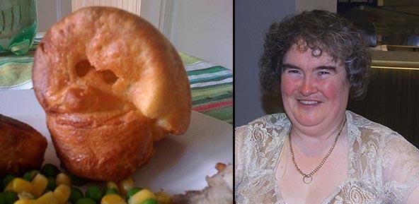 La cara de Susan Boyle, en una madalena