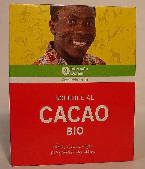 Soluble al cacao bio intermon oxfam