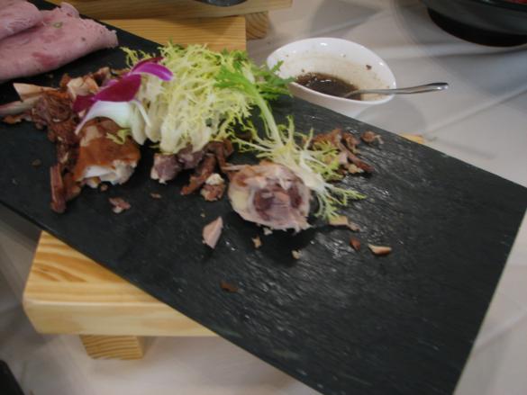 costilas de cerdo soja