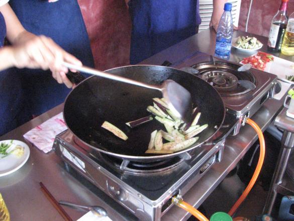 curso cocina yangshuo berenjena