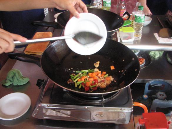 curso cocina yangshuo pollo
