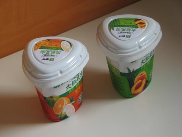 yogur coco melocoton