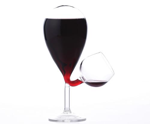 copa vino autorrellenable