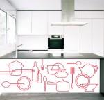 vinilo cocina