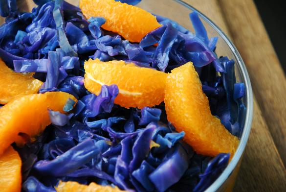 ensalada lombarda naranja