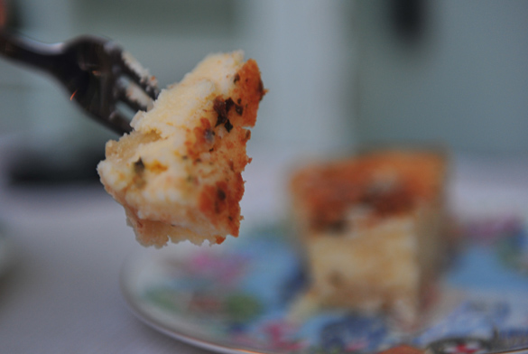 flao ibicenco queso hierbabuena