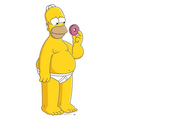 homer simpson donut