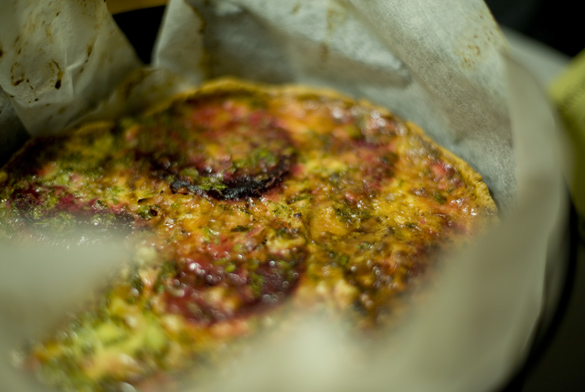 tarta remolacha queso gorgonzola