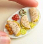 comida miniatura