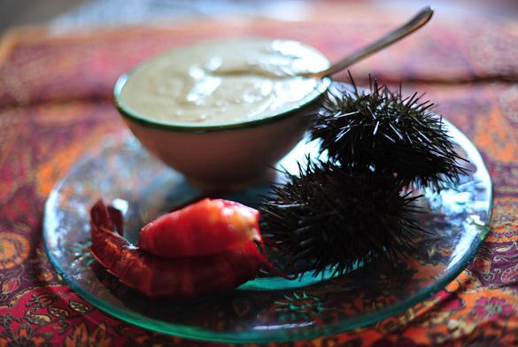 crema alcachofas carabineros