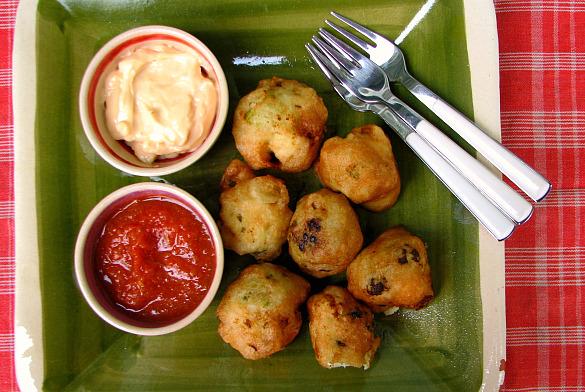 fritos coliflor marinada