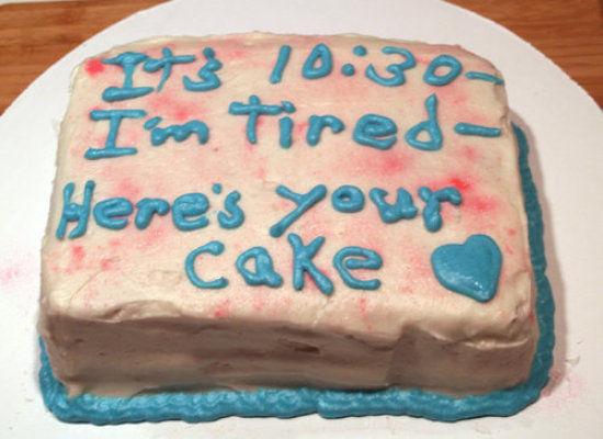 tarta estoy cansada