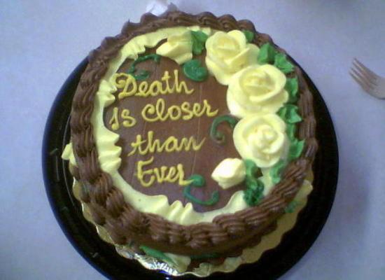 tarta muerte