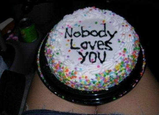 tarta nadie te quiere