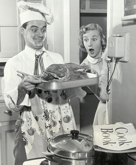 cocinero y esposa