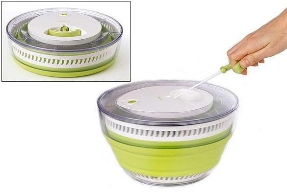 centrifugador ensaladas plegable