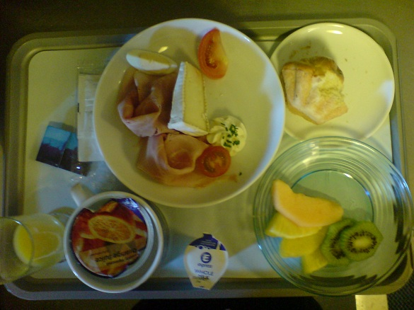 comida avion kylie minogue